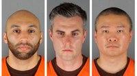 Court OKs 3rd-degree murder against 3-ex cops in Floyd death