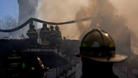 6 charged in NY care home fire where firefighter, resident died