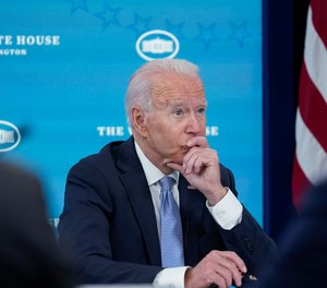 Biden's plan would ensure that no one fighting wildland fires is making less than $15 per hour and would add or convert to full-time nearly 1,000 firefighters across a host of agencies.