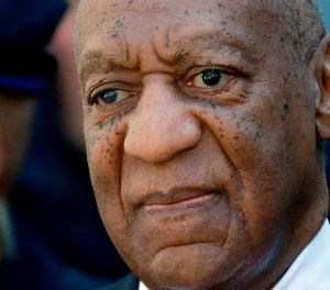In this April 26, 2018 file photo, actor and comedian Bill Cosby departs the courthouse after he was found guilty in his sexual assault retrial, at the Montgomery County Courthouse in Norristown, Pa.