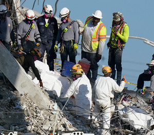 Arango's daughter's body was pulled from the rubble on July 1.