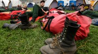 How wildfire camps keep crews ready for battle