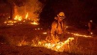 Calif. FF severely burned fighting Caldor Fire