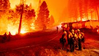 COVID-19 outbreak sidelines 'whole strike team of crews' battling Caldor Fire