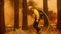 Strong winds push Calif. wildfire closer to Lake Tahoe communities, resorts