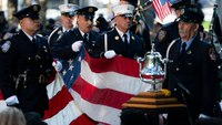 Presidents, dignitaries, victims' families mark 20-year anniversary of 9/11