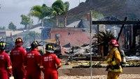 At least 2 dead in Calif. plane crash that burned homes, UPS truck