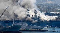'Repeated failures': Navy probe cites botched fire response at warship blaze
