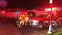 5 hurt after utility pole explosions at Calif. shopping complex