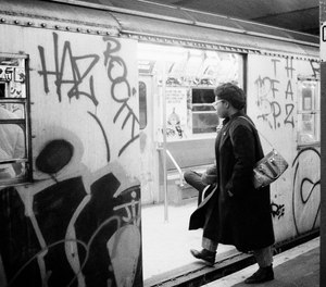 It's no secret that in the 1970s through the 1990s, the New York City subway was seen as the poster child for urban decay.
