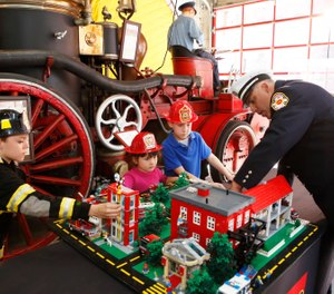 While performing home safety visits, it became clear to us that most fires are preventable, and death and injuries are most preventable when the fire does not happen. (Bizuayehu Tesfaye/AP Images for LEGO Systems, Inc.)
