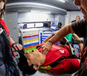 By paying attention to even the subtlest sign, the crew's awareness is heightened, and priorities of care can be established to give a patient the best chance for survival. (AP Photo/Nati Harnik)