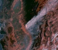Headaches and raspy voices as wildfire smoke chokes US West