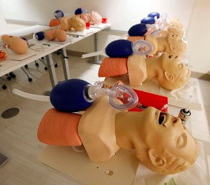 Studies have shown the benefits in providing accurate ventilations and oxygenation in combination with effective chest compressions and timely defibrillation when performing high quality CPR. (AP Photo/Rogelio V. Solis)