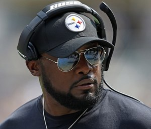 Chief Paul Smith posted a comment with a racial slur directed at Pittsburgh Steelers' coach Mike Tomlin. (Photo/AP)