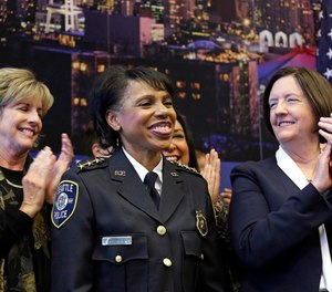 In 2018, Carmen Best was named Seattle police chief after 26 years with the department. She is one of only a handful of women leading police departments in America's largest cities.