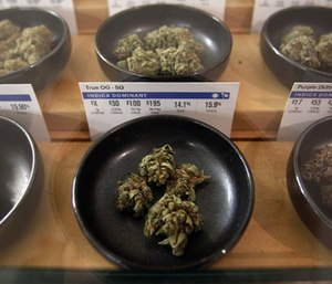 Medical marijuana is legal in more than 30 states. (Photo/AP)