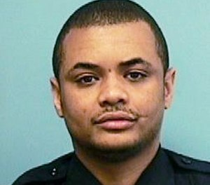 This undated file photo provided by the Baltimore Police Department shows Detective Sean Suiter. (Baltimore Police Department via AP)