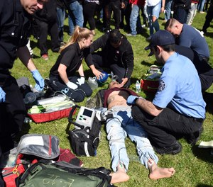 Above all, do something to prep the next-gen EMS leader. We may be aging to the point where we will soon need their services. (AP Photo/Josh Edelson)