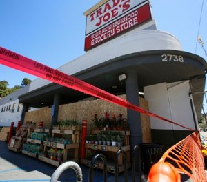 The July 21 incident left one dead, 27-year-old store manager Melyda Corado. (AP Photo/Damian Dovarganes)