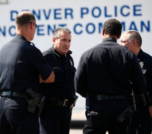 Colo. LEOs, collaborating with federal agents, arrested 156 suspected violent fugitives. (AP Photo/David Zalubowski)
