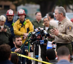 Police officer and 11 civilians killed in California bar shooting. The gunman also killed and unknown number of people were injured.  multiple injuries _ including one officer _ after a man opened fire in Southern California bar late Wednesday.