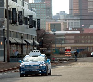 In 2030, police work was on life support from a technology that saved lives, eased the suffering and lowered crime – self-driving vehicles. (AP Photo/Keith Srakocic)