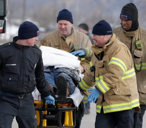 By staying aware of the potential for carbon monoxide, firefighters can keep themselves safe and successfully treat their patients as the temperatures drop this winter. (AP Photo/Nati Harnik, File)