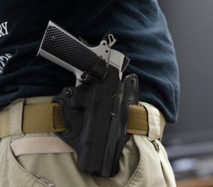 LEOSA provides active and retired law enforcement officers who meet certain criteria with the right to carry a concealed firearm throughout the United States. (AP Photo/Lynne Sladky, File)