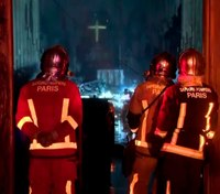 400 Parisian firefighters save Notre Dame structure