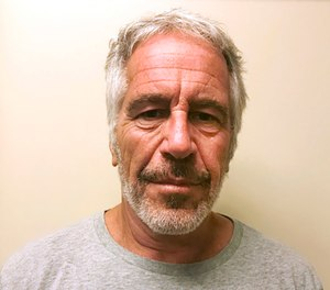 Details about the Jeffrey Epstein's death were up on the anonymous message board 4 Chan about 30 minutes before word of the apparent suicide seeped out.  (Photo/New York State Sex Offender Registry via AP)