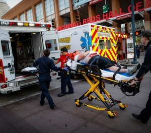 Finding the best ways to cope with EMS workplace stress can vary from person to person. (AP Photo/John Minchillo)