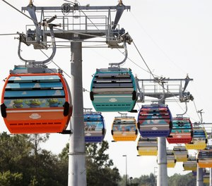 The tapes depict stranded riders crying, pleading for help for people with health conditions and in one case a man who had passed out, all when the gondolas broke down Oct. 5. (AP Photo/John Raoux)