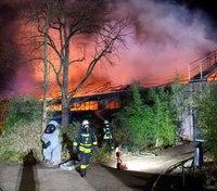 Dozens of animals die in fire at German zoo