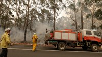 The U.S. and Australia: Trading assistance battling massive wildfires