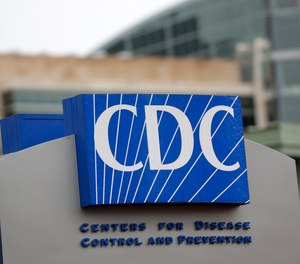 The Centers for Disease Control and Prevention is shown Sunday, March 15, 2020, in Atlanta.