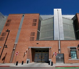 The Maricopa County 4th Avenue Jail location shown here Saturday, March 21, 2020, in Phoenix. Due to the coronavirus, some Arizona sheriffs are calling for the release of certain offenders from jail and urging police agencies to issue citations rather than arrest people.