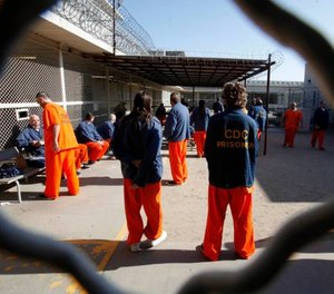 The declarations, with inmate names redacted in court records to protect prisoners from retaliation, detail harrowing allegations of staff misconduct. (AP Photo/Rich Pedroncelli)