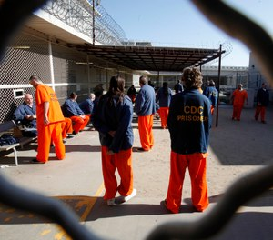 Corrections officials are finding that even those who don't contract COVID-19 are still victims to the stress and trauma of life during a pandemic. AP Photo/Rich Pedroncelli, File)