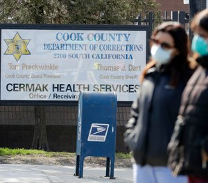 Officials in Cook County, Illinois are seeking to join lawmakers in 35 other states in approving a measure to share COVID-19 patient information with first responder agencies, but faces pushback from civil rights advocates. The county recently saw an outbreak at Cook County Jail in Chicago that has killed at least six detainees and one guard.