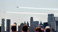 Video: Thunderbirds, Blue Angels fly over NYC, NJ, Philadelphia in salute to COVID-19 responders
