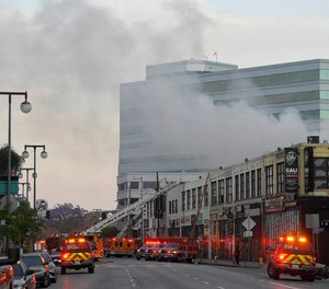 Three of the 12 Los Angeles firefighters injured in a May 16 explosion have returned to active duty, officials say.