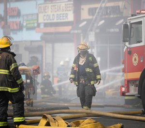 Firefighters and paramedics treat murderers, thieves, drug dealers and abusers all the time. We wrap their wounds. We treat their chest pain. We advocate when we believe they should be taken to the hospital versus going straight to jail. (AP Photo/Matt Rourke)