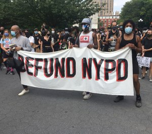 The good news is, according to the survey, is that there are very few persons seriously advocating for defunding police agencies. (Photo/STRF/STAR MAX/IPx)
