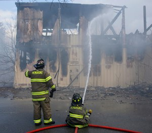 The most important strategy to combat a commercial structure fire is building preplanning.