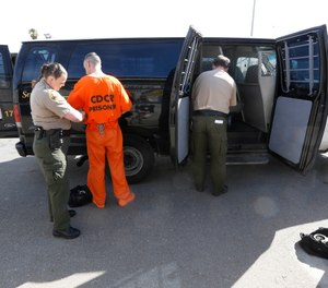 When vehicles are equipped with the right equipment, the risks are reduced for both officers and inmates. (AP Photo/Rich Pedroncelli)