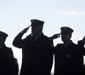 You will not get to write or determine your final chapter of how you did when you served as a company or chief fire officer – the firefighters who served with you get that right, and they will stand in judgment.  (AP Photo/Mike Groll)