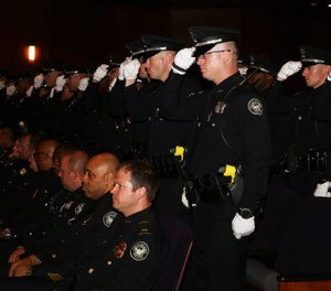After completing 26 weeks of training at the Atlanta Police Academy and 12 weeks of field training, Atlanta PD welcomed 34 new officers from APD recruit class 257 and 258 on June 4, 2019. (Photo/Atlanta PD Facebook page)