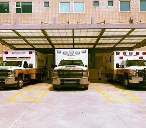 Acadian Ambulance reported an 18% increase in patients refusing transport against the advice of medics.