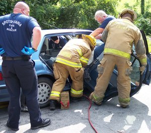 The goal of seat removal must always be to improve the victim's situation; for treatment and packaging or to increase rescuer access to effectively manage and free the victim. (Photo/Max Pixel)
